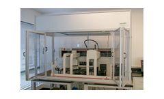 Positive Pressure Tabletop Robotics Enclosure