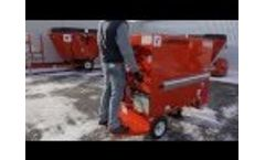 Electric feed cart - Electric Supercart VA Video