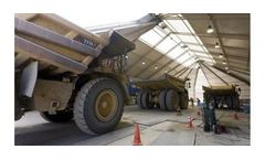 Tensioned Membrane Structures for Mining