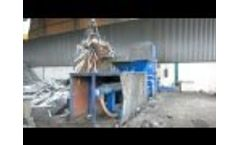 G.P.S. 30- 3C automatic continuous feed baler - Video