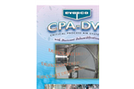 Evapco - Model CPA-DW - Critical Process Air System with Desiccant Dehumidifiers - Brochure