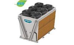 Model eco-Air Series - V-Configuration Adiabatic Cooler