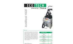IceBlast - Model KG6 - Dry Ice Blasting Machine Brochure