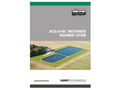 Accel-o-Fac - Zero-to-Low Energy Wastewater Treatment System Brochure