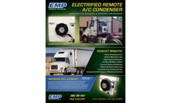 EMP - Electric Remote Air Conditioning Condenser - Brochure