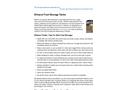 Ethanol Fuel Storage Tanks Datasheet