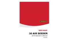 Seed Hawk - Model 30 - Air Seeder Brochure