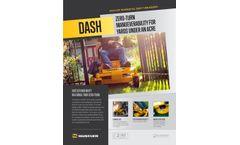 Hustler Dash - Compact Residential Mower - Datasheet