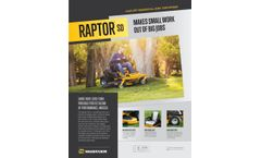Hustler Raptor - Model SD - Residential Zero-Turn Mower - Brochure