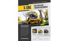 Hustler X-One - Commercial Zero-Turn Mowers - Brochure