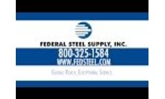A106 Carbon Seamless Steel Pipe Distributor - Federal Steel Supply, Inc. Video