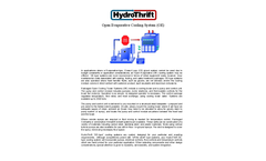 HydroThrift - Open Evaporative (OE) Cooling System - Brochure