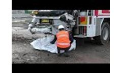 Stratex Concrete Washout Bags Video
