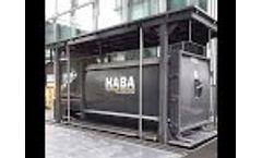 HABA MEGA underground waste system