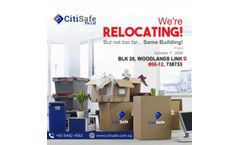 CitiSafe Pte Ltd Relocation Notice