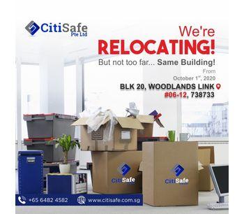 CitiSafe Pte Ltd Relocation Notice