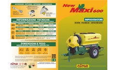 Maxi - Model 600 - Trailed Dusters Brochure