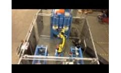 Rxs900 RB Robot Loaded Blast Machine Operates Unattended Video