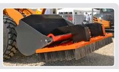 Compact - Brooms for Forklift with Steel Brushes