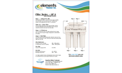 Aqua Sure - Model Filter Series - UF-5 - Reverse Osmosis (RO) Systems - Datasheet