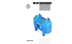 Model 30 - Air Cooled Vacuum/Pressure Blowers Brochure