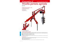 Giaccaglia - Model TA - Post Hole Diggers Brochure
