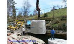 Epuro - Model 5 EH - Vibrated Concrete Tanks