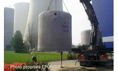 BIO+/ BIOPUR - Model EH - Vibrated Concrete Tanks