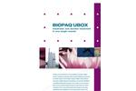 BIOPAQ®UBOX Anaerobic/Aerobic Sewage Treatment - Brochure
