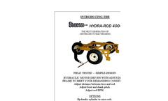 Stoess - Model 4000 - Hydra Rod Weeder - Brochure