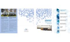 Aluminium Self Supporting Bulk Feed Tanks Semi Trailer Brochure