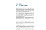 Ion Enterprises Company Overview - Brochure
