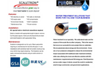 NaturalSof - Model NS Mini series - Chemical Free Scale Prevention Unit - Brochure