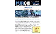 Puroxi for Aquaculture - Brochure