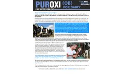 Puroxi for Dairy - Brochure