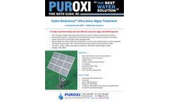 PUROXI Bio-Science Land Based Solar Systems - Brochure
