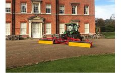 Redexim Top-Brush provides worm cast solution at Brocket Hall Golf Club