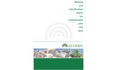 Soil Washing Plant Brochure