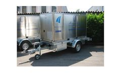 Combi - Model BW - Mobile Primary Water Treatment Trailer Unit