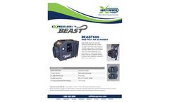 Express - Model BEAST600 - Mini Poly Air Scrubber - Datasheet