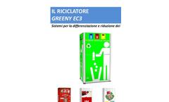 Greeny - Model EC3 - Ecological Waste Compactor System- Brochure
