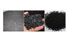 Grinder applications for Pre-shredded Tyres