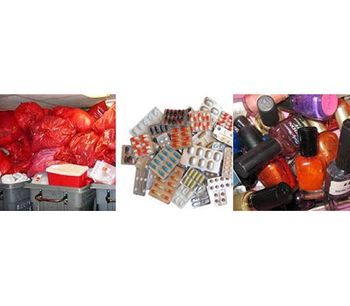 Shredder applications for Hospital, pharmaceutical, cosmetical waste - Waste and Recycling