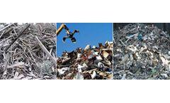 Shredder applications for AL waste