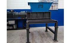ITS - Model ITS850x550E - Industrial Twin Shaft Shredder