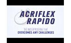 Acriflex Rapido - Fast-drying waterproofing  Video