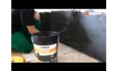 Watstop by Diasen -- Liquid waterproofing for rising damp, infiltration and counter thrust Video
