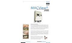 MacView - Ammonia Sensor Brochure