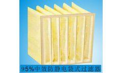 Green Source - Model F9PF - Anti-static pocket filter