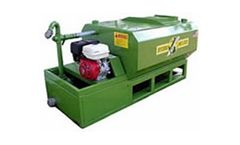 Pumps with extended service life for generating biogas from organic waste